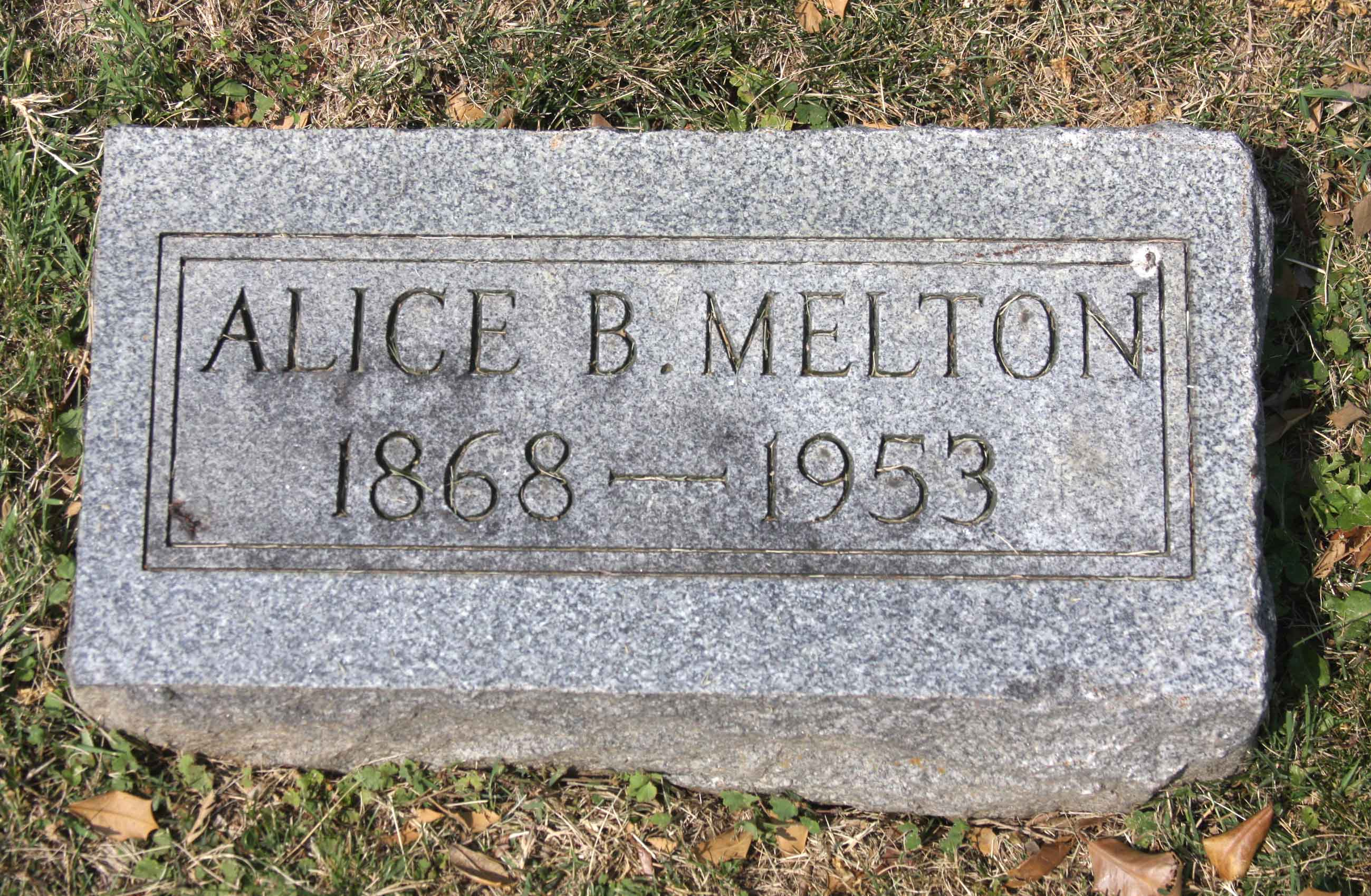 Alice Ree <i>Thomas</i> Melton