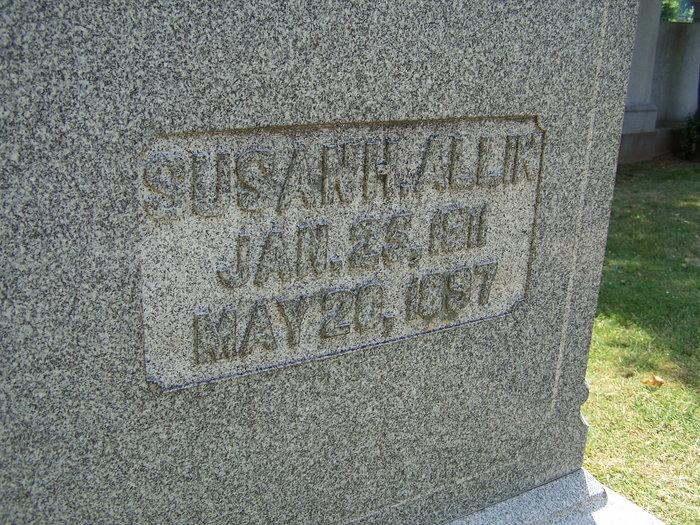 Susan Hart <i>Warren</i> Allin