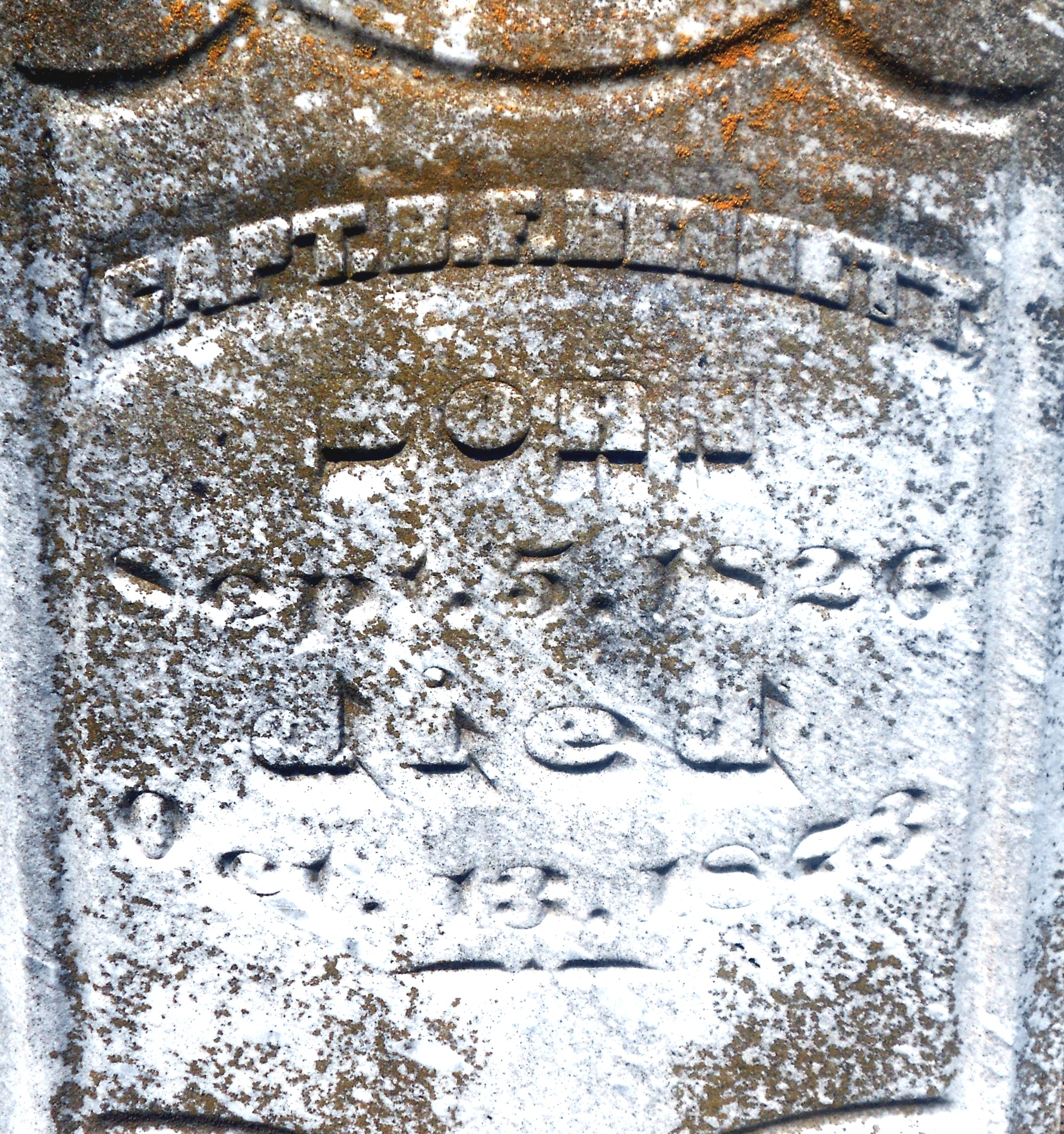 Capt Benjamin Franklin Bennett