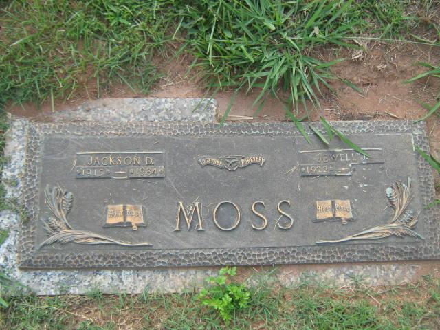 Jewell Virginia <i>Johnson</i> Moss