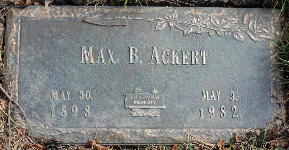 Max B Ackert