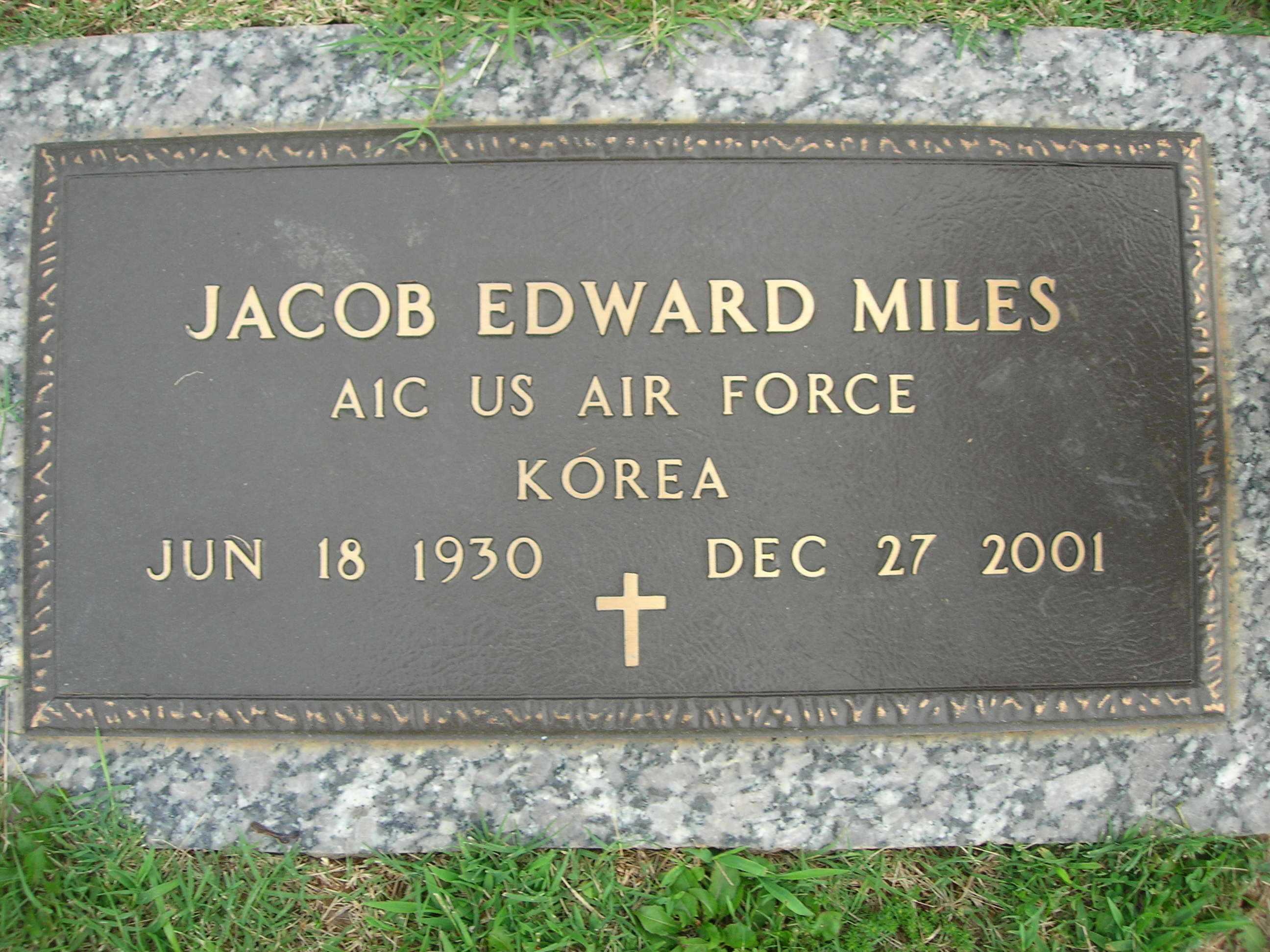 Jacob Edward Miles