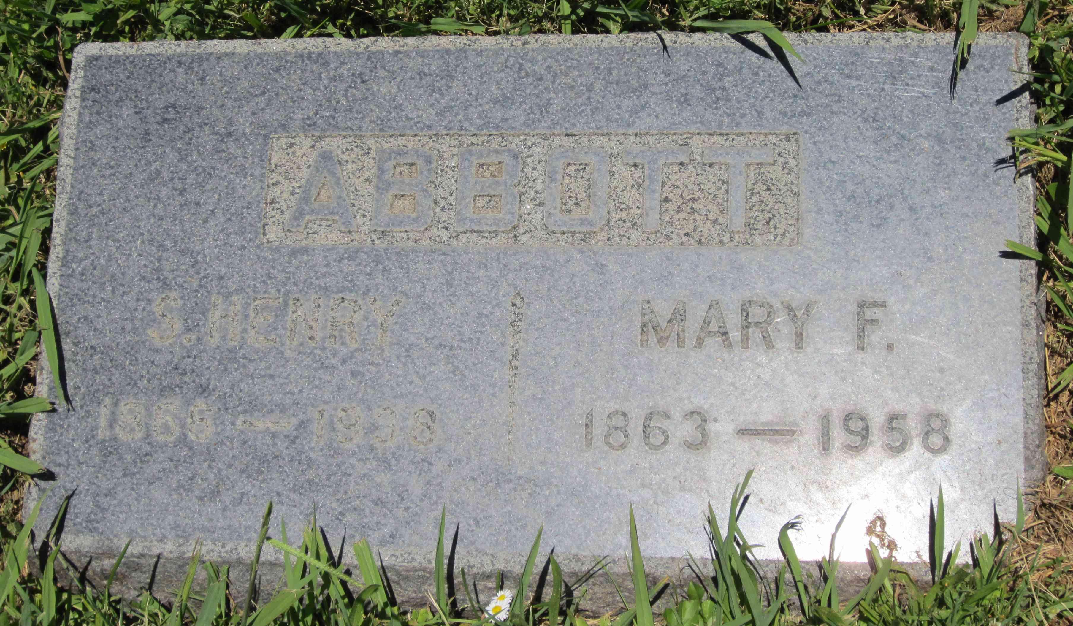 Mary Frances <i>Newhouse</i> Abbott
