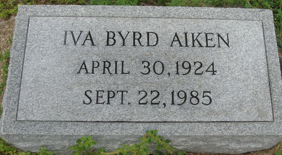 Iva <i>Byrd</i> Aiken