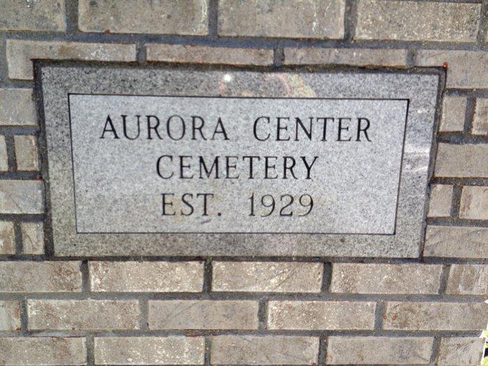 Aurora Center Cemetery