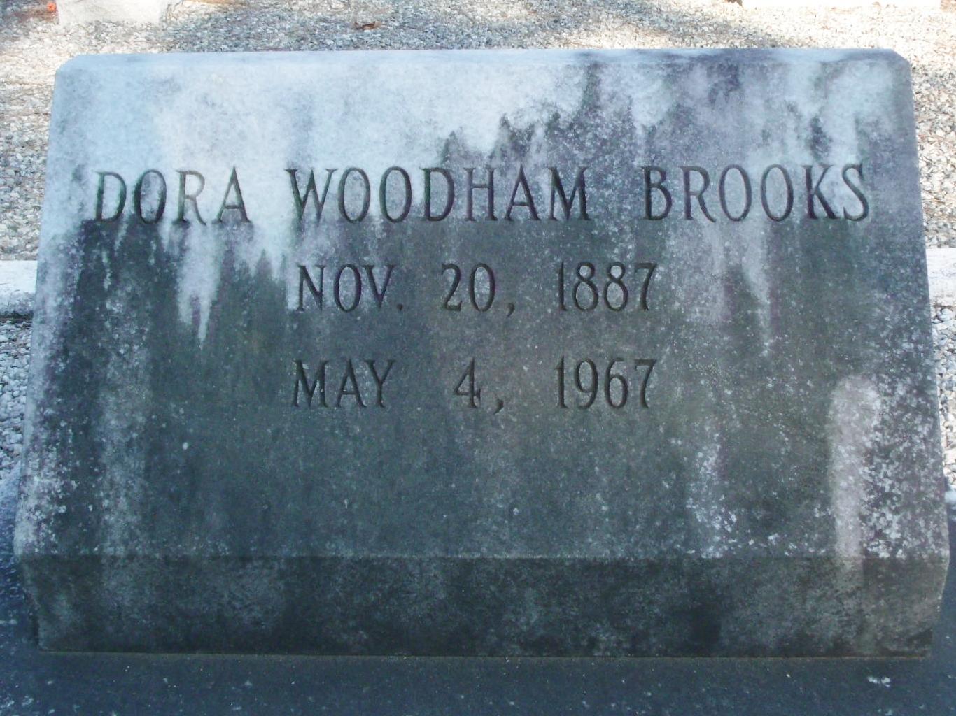 Dora <i>Woodham</i> Brooks