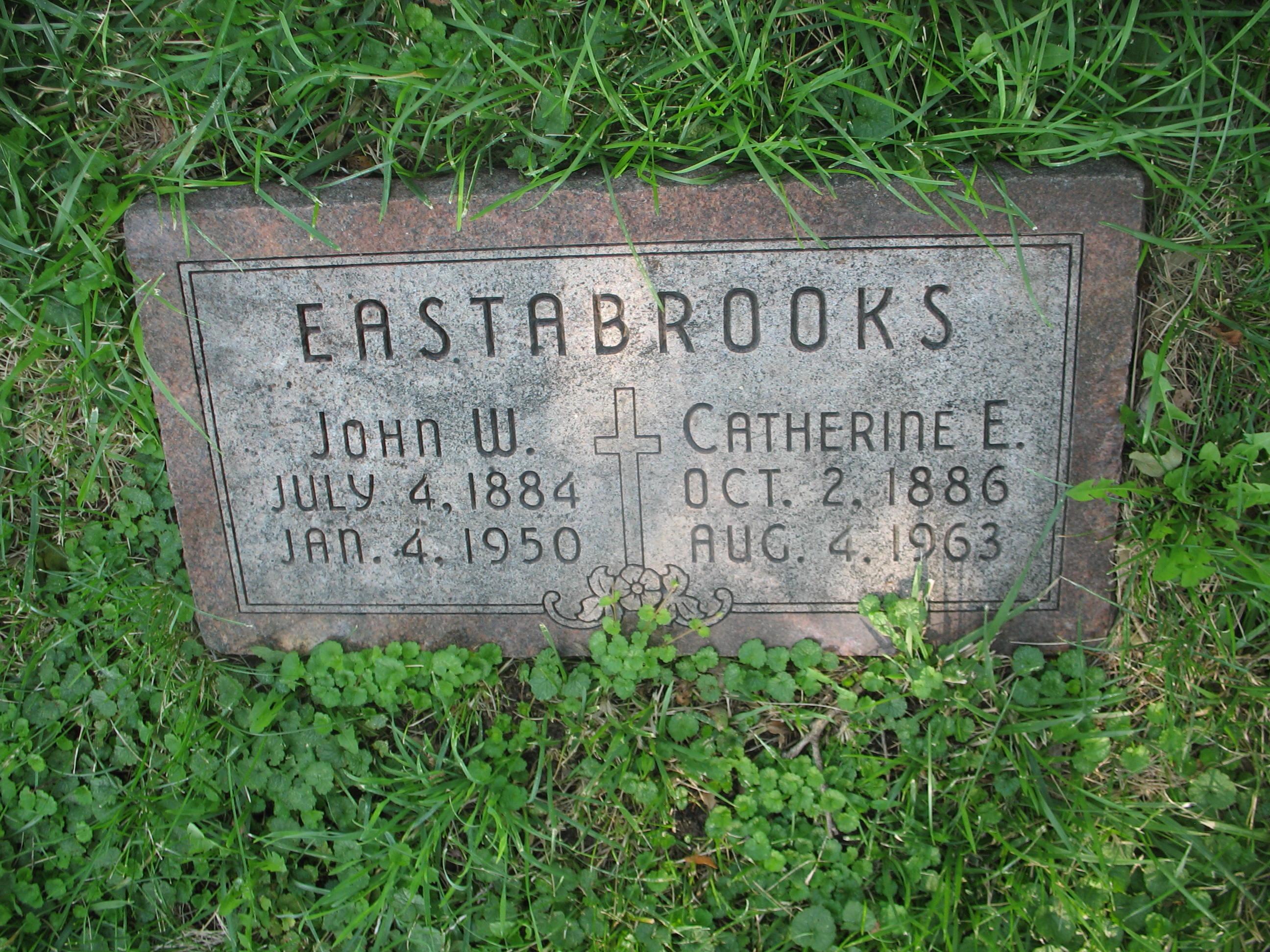 Catherine Elizabeth Kate <i>Dolan</i> Eastabrooks