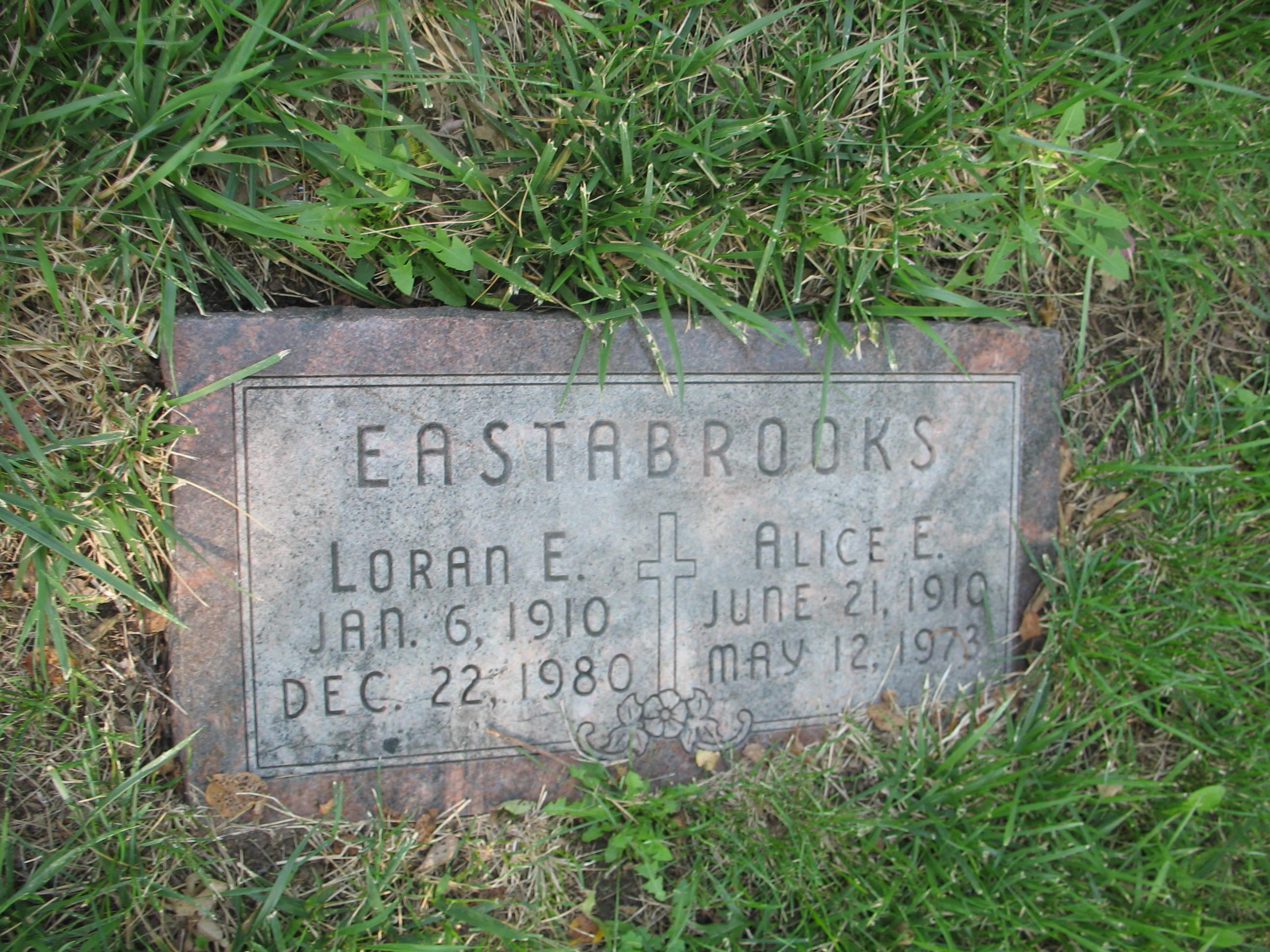 Alice Elizabeth <i>Smith</i> Eastabrooks