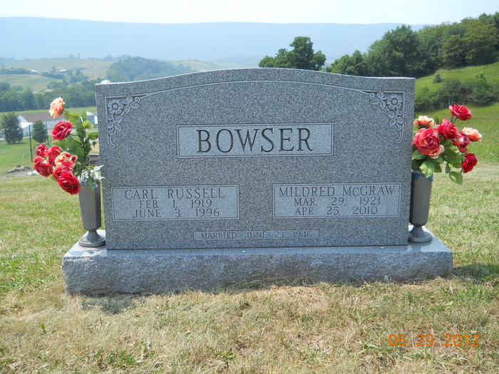 Mildred <i>McGraw</i> Bowser