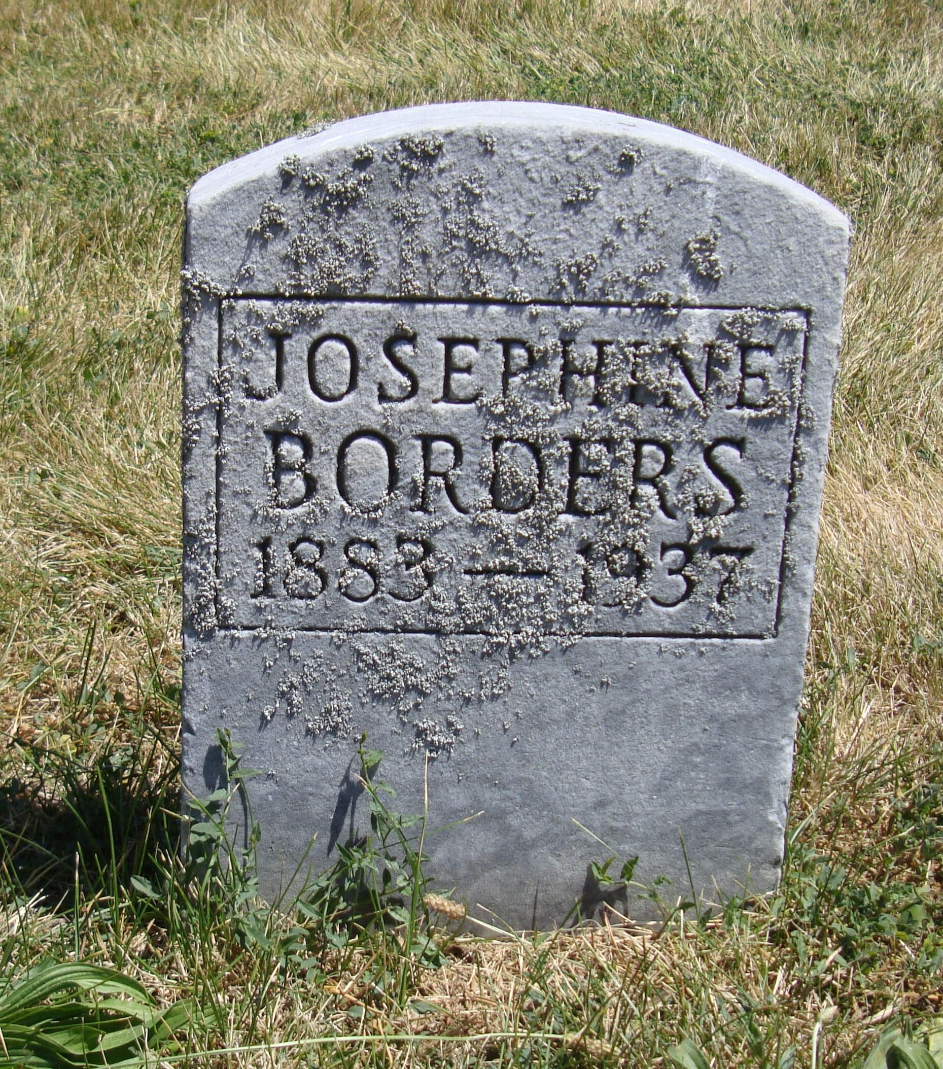 Elsie Josephine <i>Harrell</i> Borders