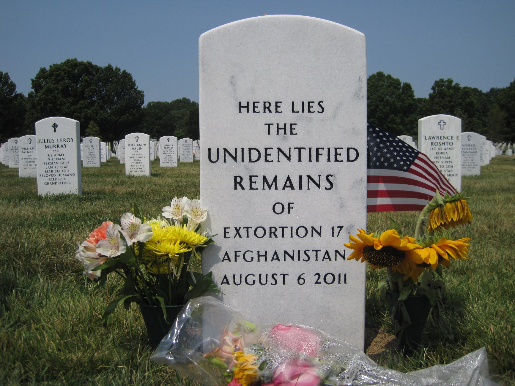 Unidentified Remains Extortion 17 (Unknown-2011) - Find A Grave Memorial
