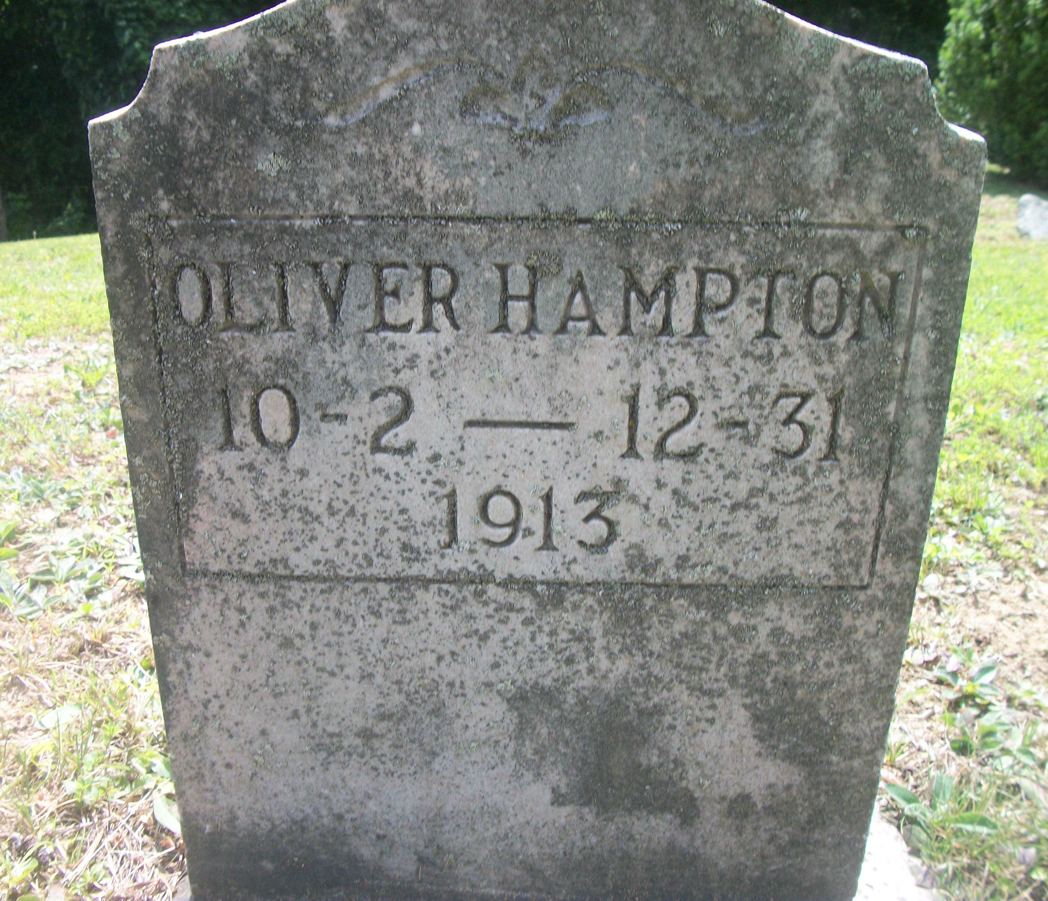 Oliver Hampton