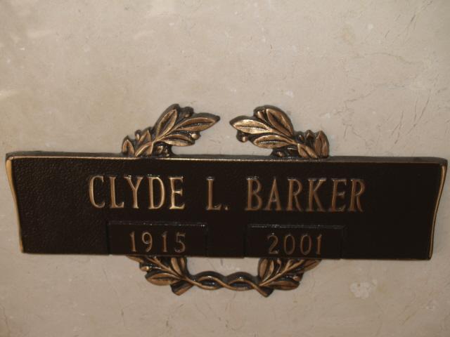 Clyde L Barker