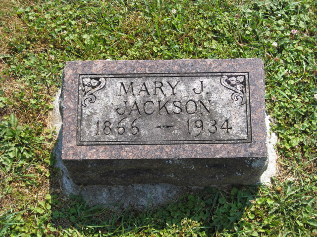 Mary Jane <i>Simmons</i> Jackson