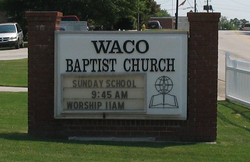 Waco Baptist Church Cemetery