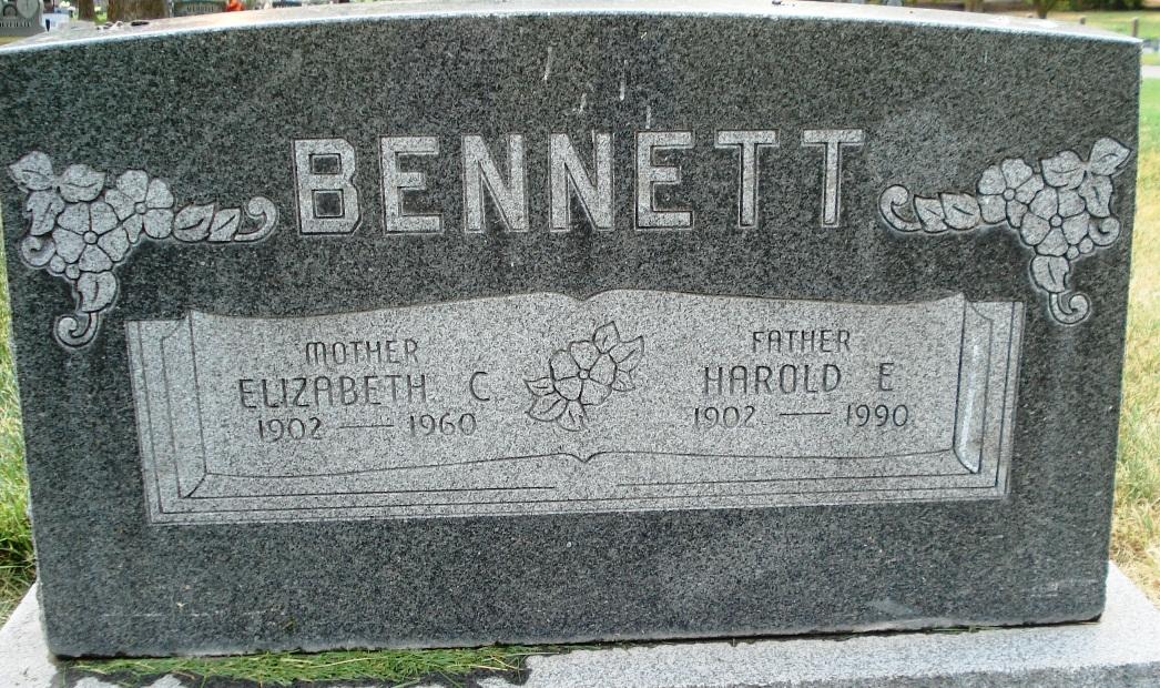 Elizabeth Sarah <i>Cook</i> Bennett