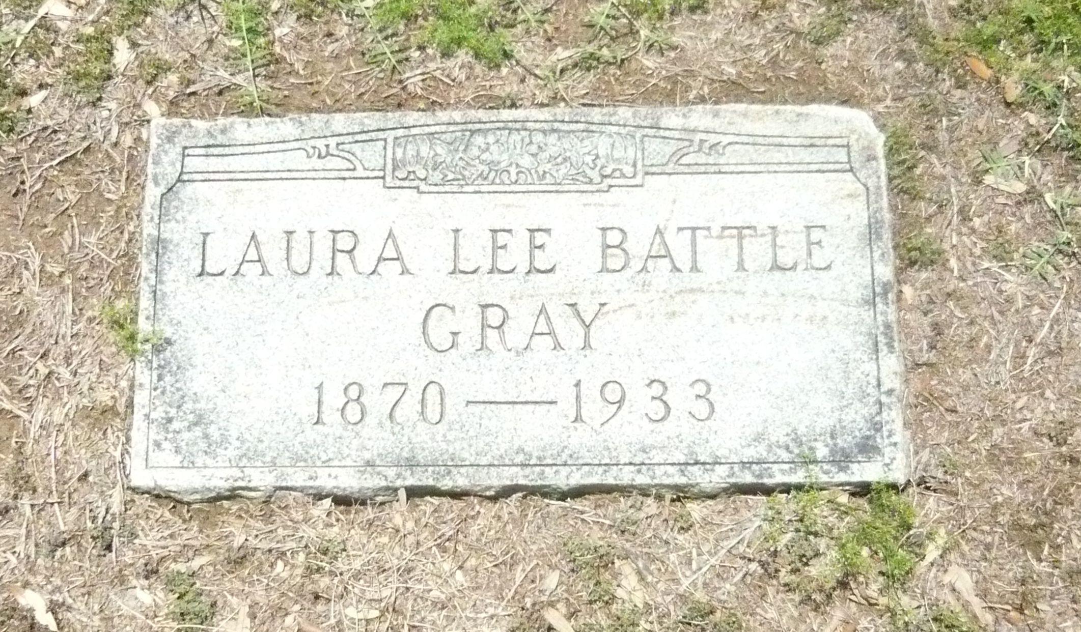 Laura Lee <i>Battle</i> Gray
