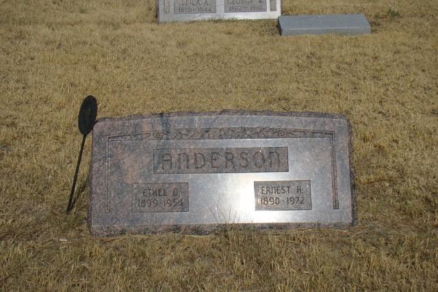Ethel Olive <i>Hunt</i> Anderson