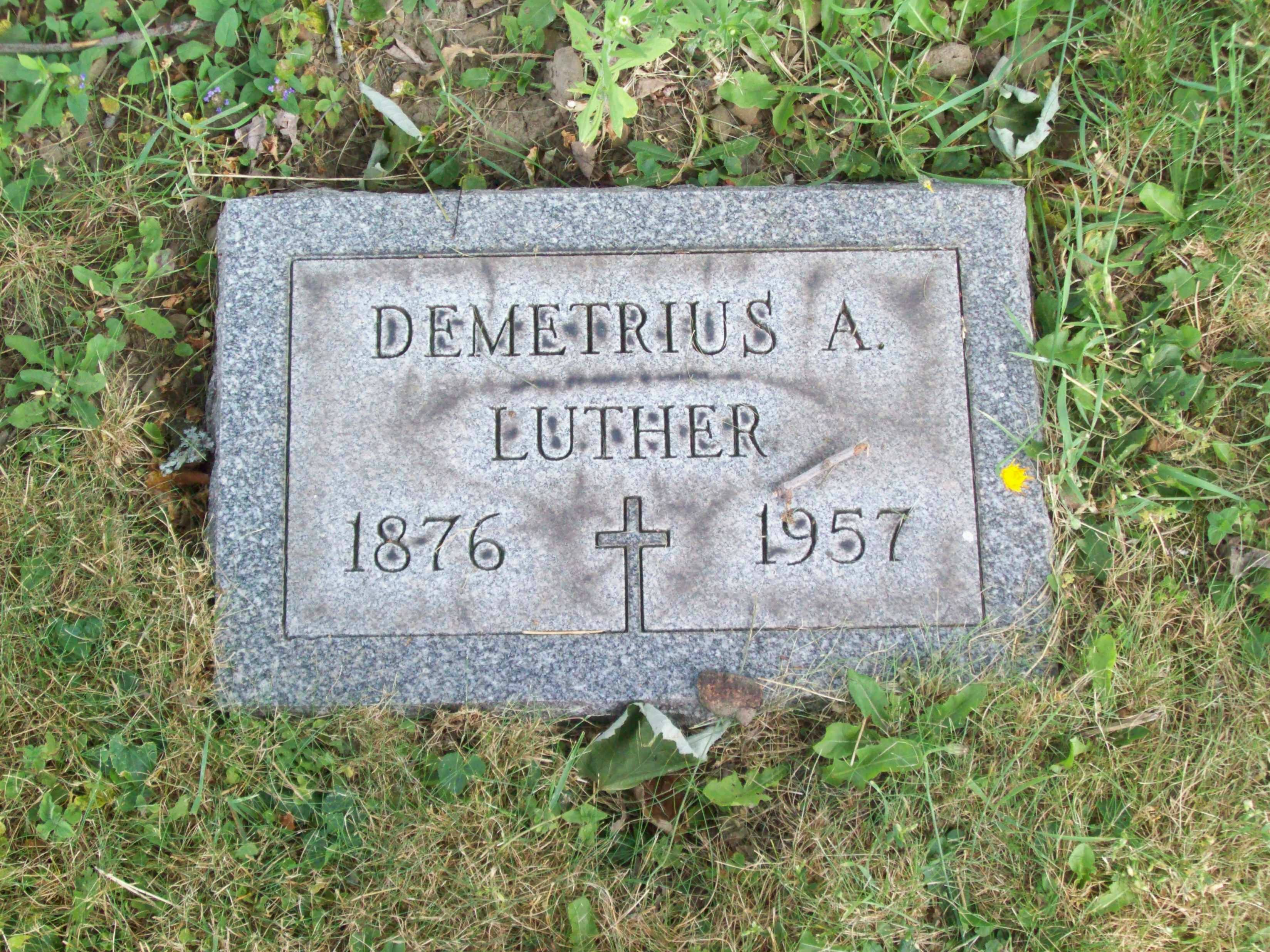 Demetrius A. Luther
