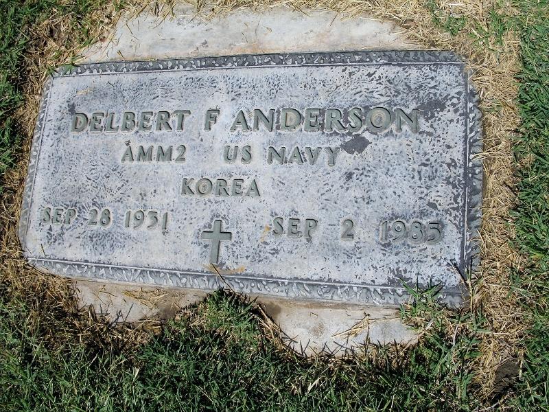 Delbert Fay Anderson, Jr