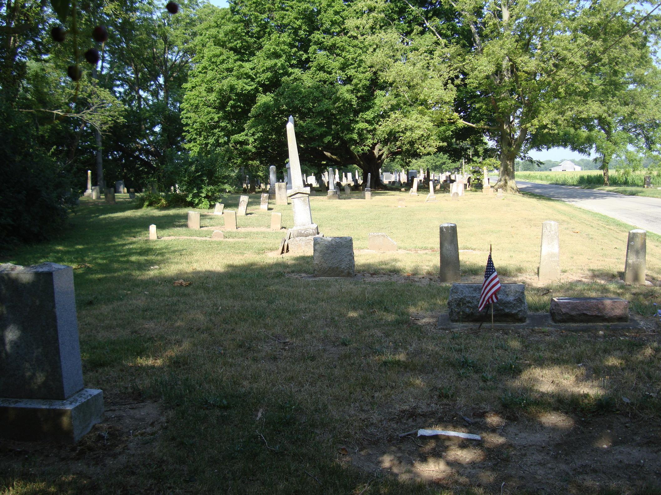 Old LaFontaine Cemetery