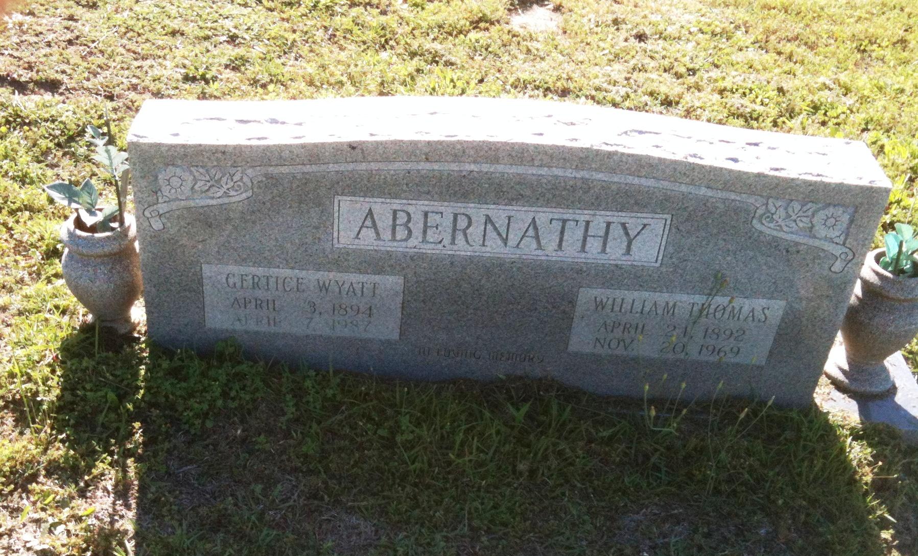 William Thomas Abernathy