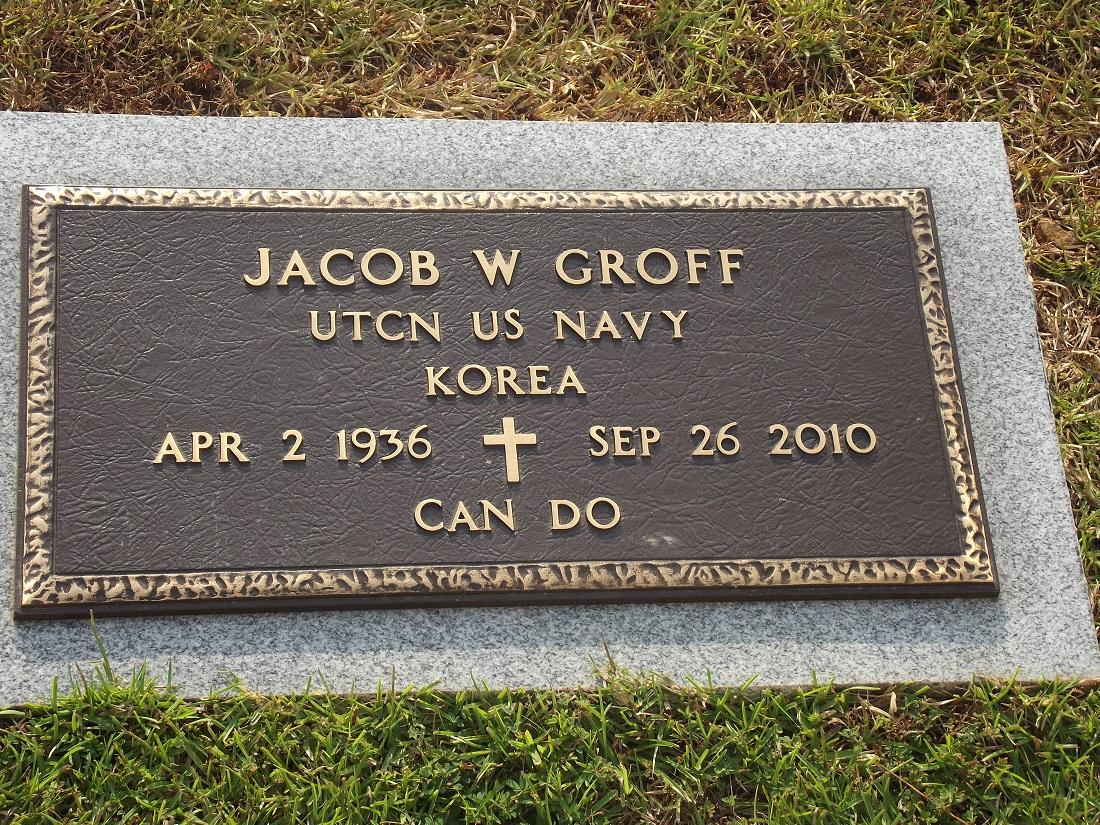 Jacob W Groff