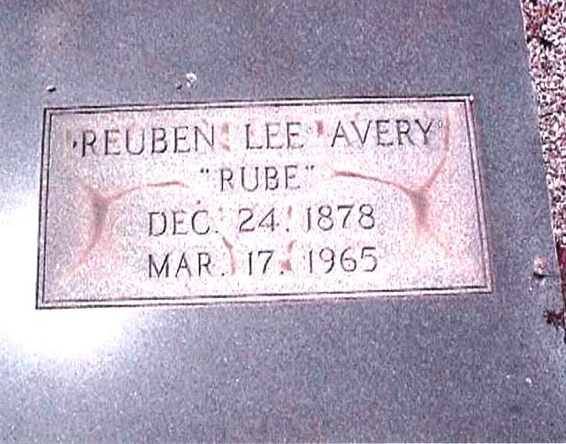 Reuben Lee Rube Rube Avery