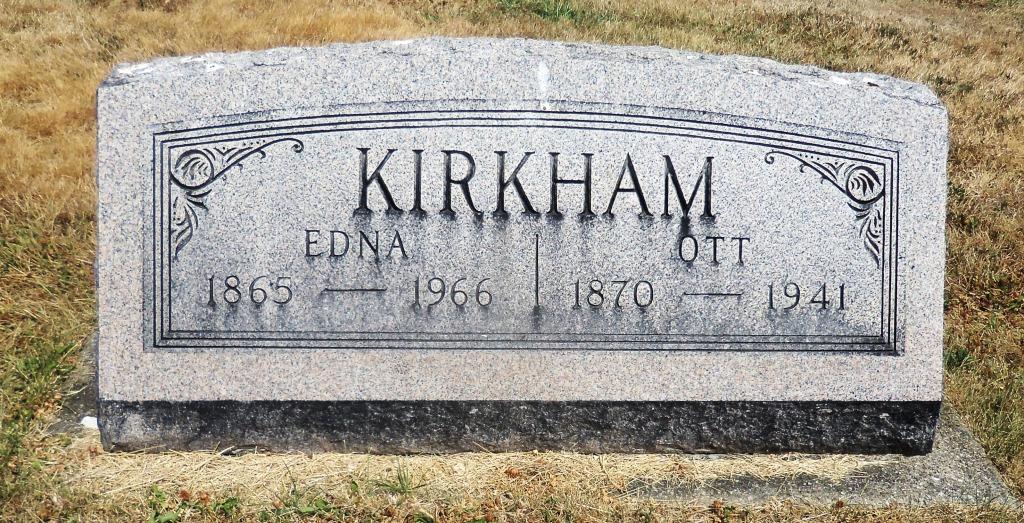 Edna <i>Stout</i> Kirkham