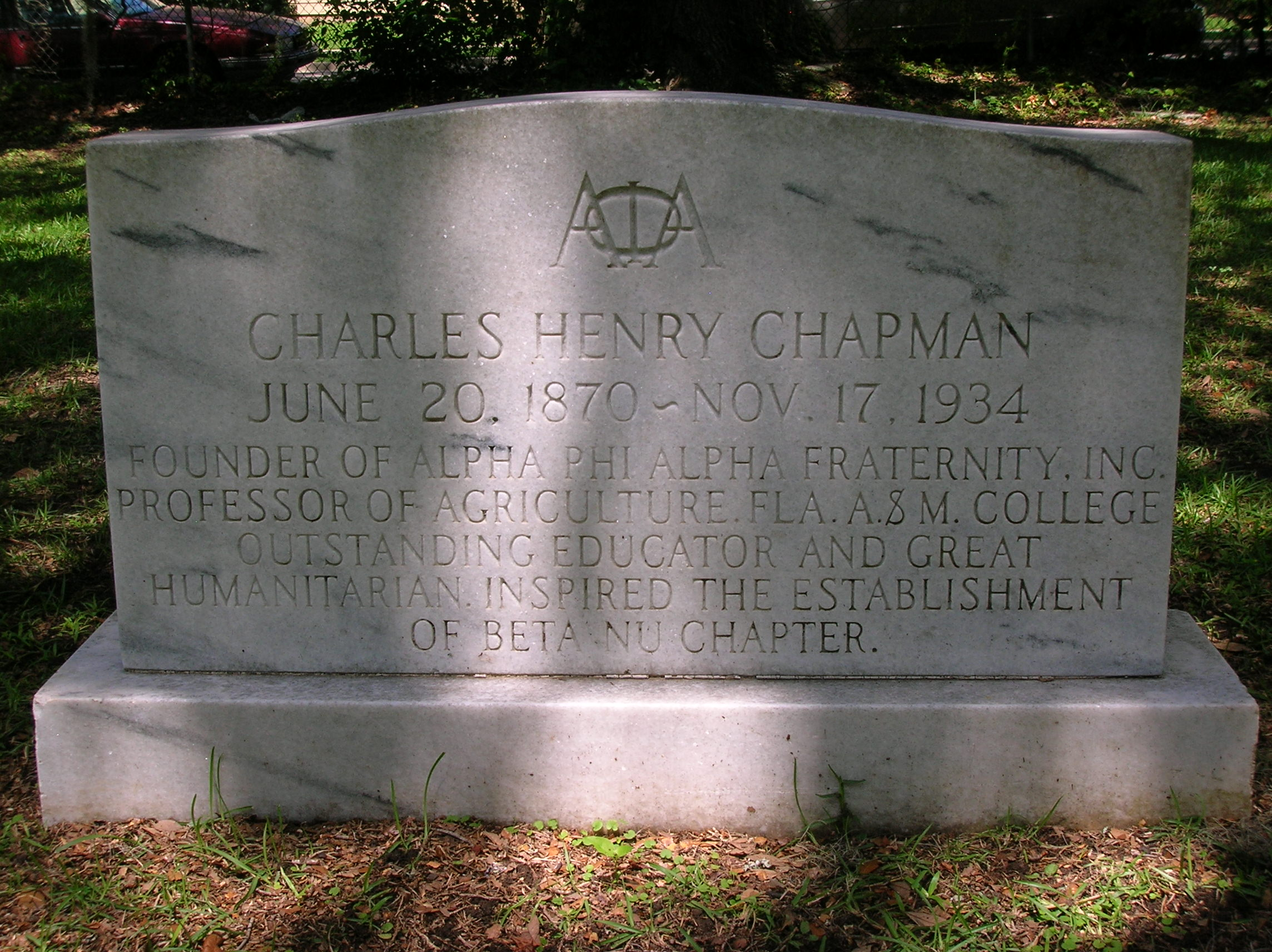 Charles henry chapman 1870 1934 find a grave memorial view original biocorpaavc Gallery