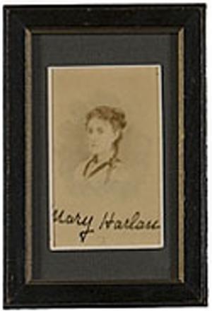 Mary Eunice <i>Harlan</i> Lincoln