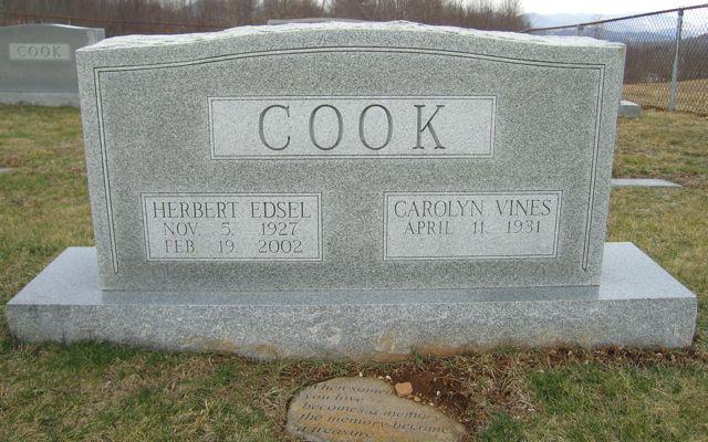 Herbert Edsel Cook