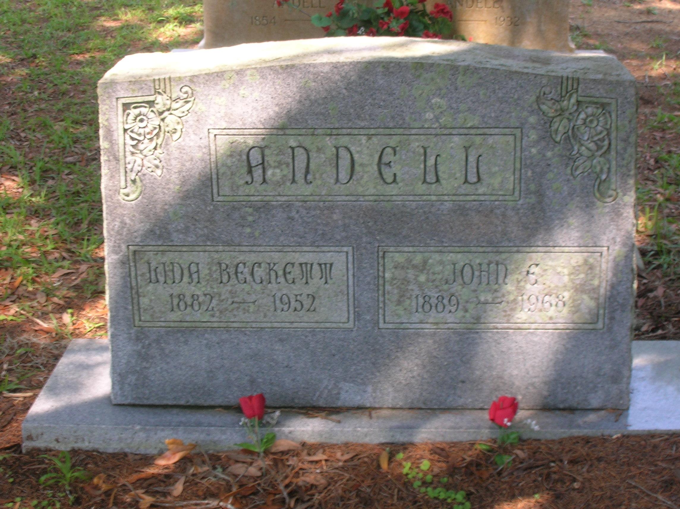 Lida <i>Beckett</i> Andell