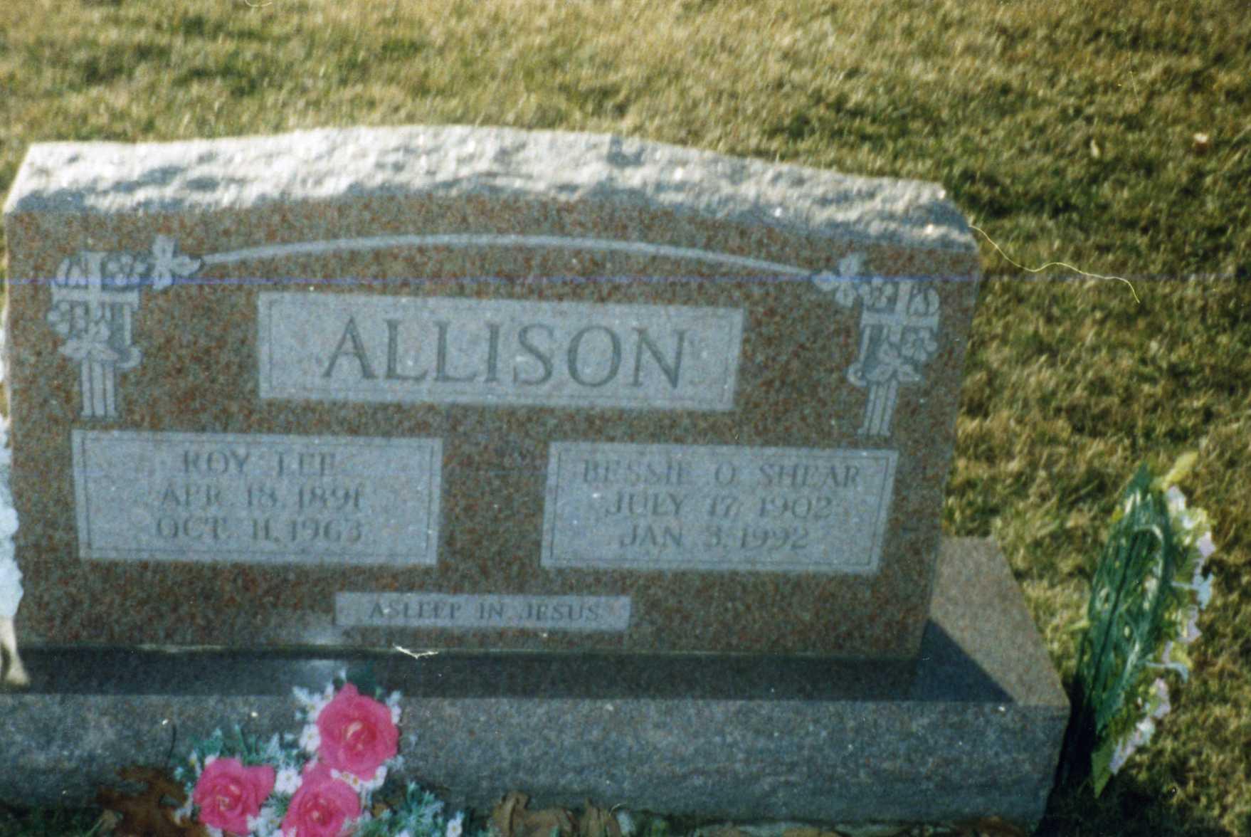 Bessie Oneta <i>Shear</i> Allison