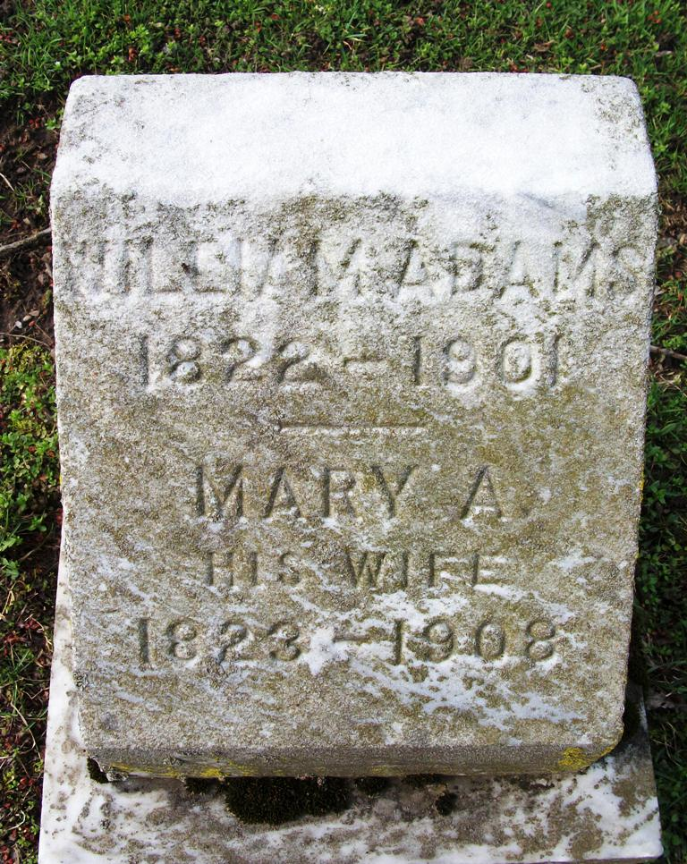 Mary A <i>Oller</i> Adams