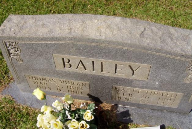 Thomas Duran Bailey