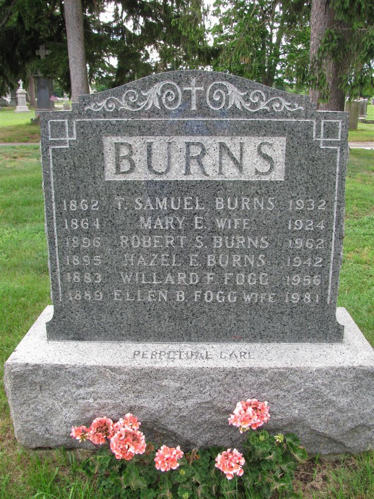 Mary Ellen <i>Dexter</i> Burns