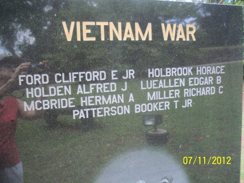 Sgt Horace A Holbrook
