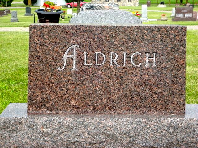 Agnes Alfredia <i>Johnson</i> Aldrich