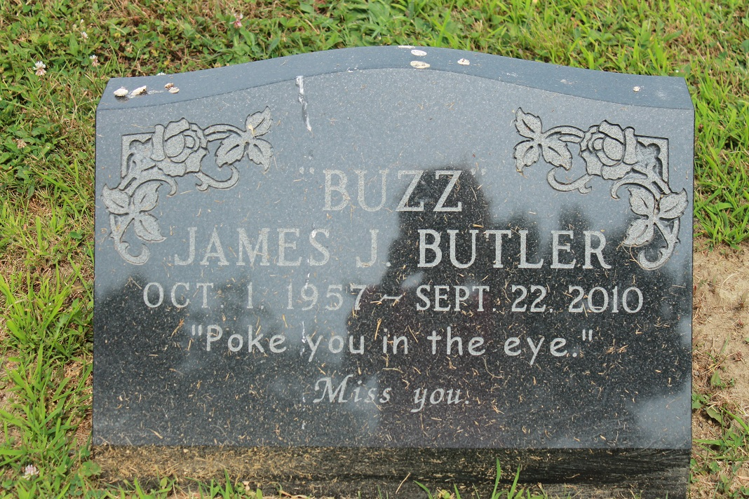 "Profile photo:  James J ""Buzz"" Butler"