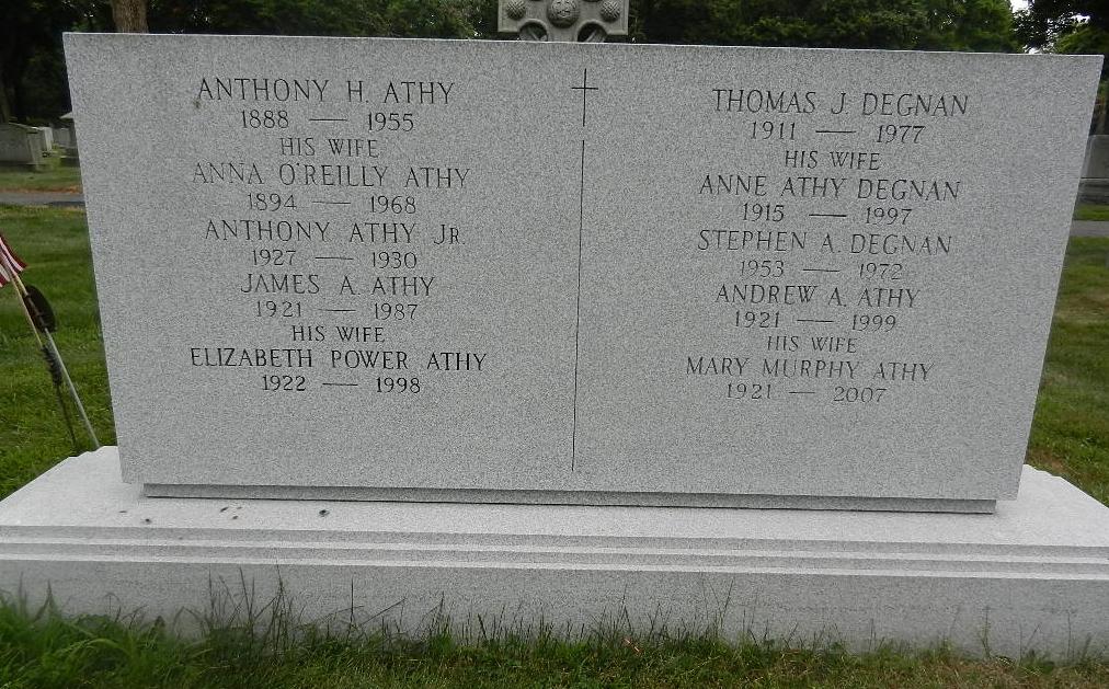 Mary F. <i>Murphy</i> Athy