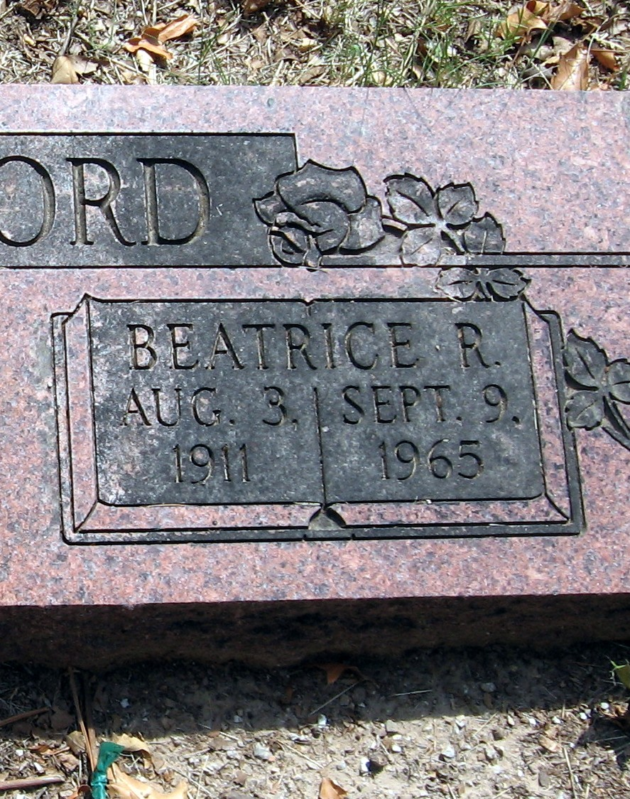 Beatrice R. <i>Brown</i> Lankford