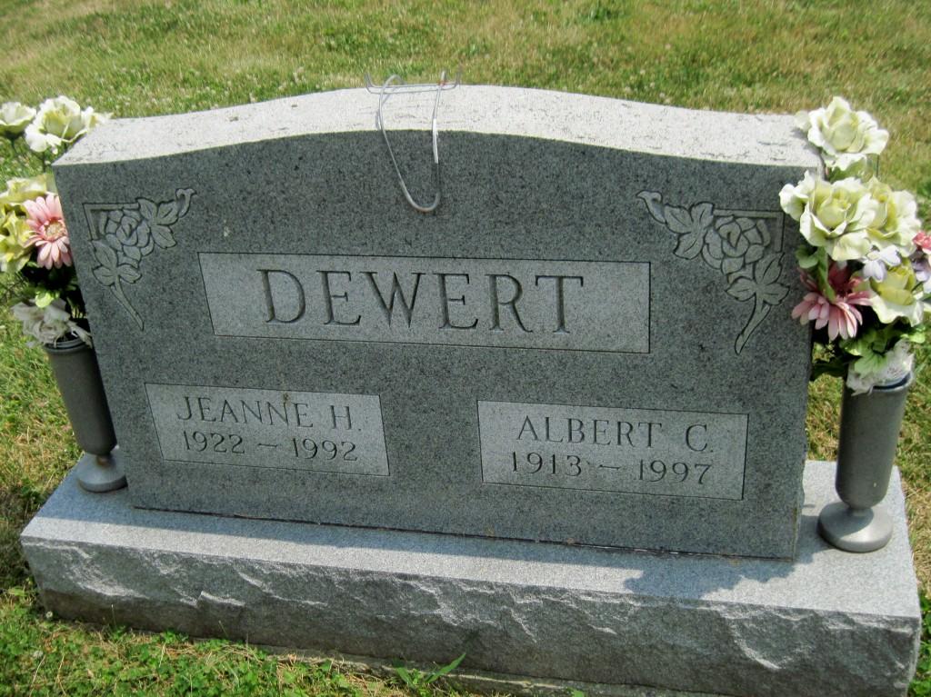 Albert C DeWert