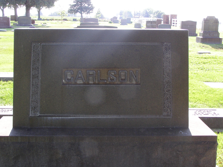 Gustave Edward Carlson