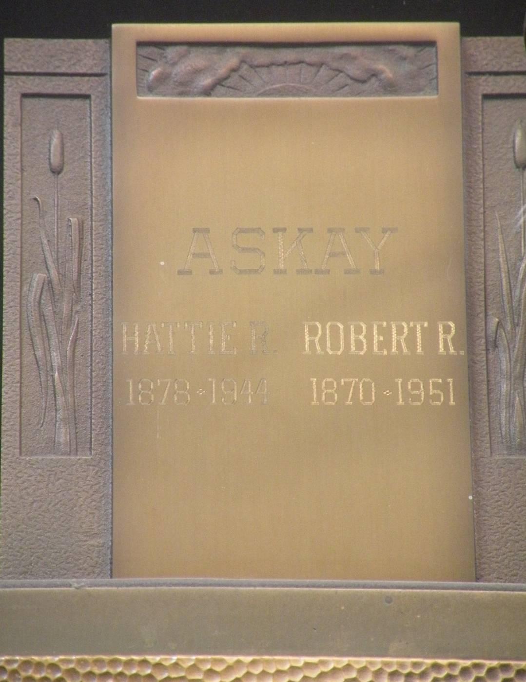 Hattie Rosalia <i>Beers</i> Askay