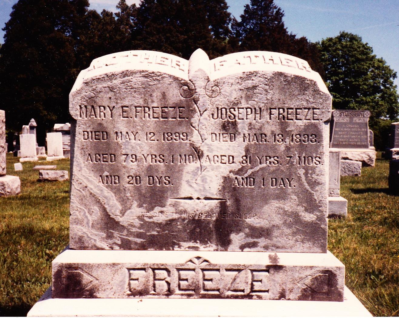Mary Elizabeth <i>Rouzer</i> Freeze