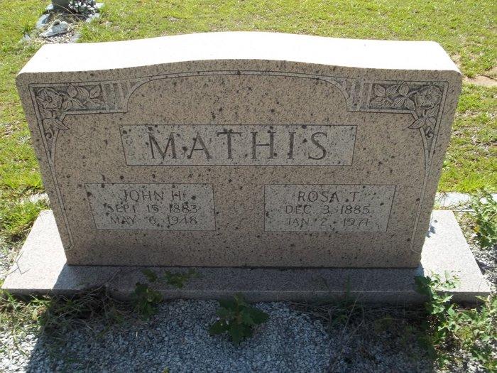 Rosa T. <i>Thurmond</i> Mathis