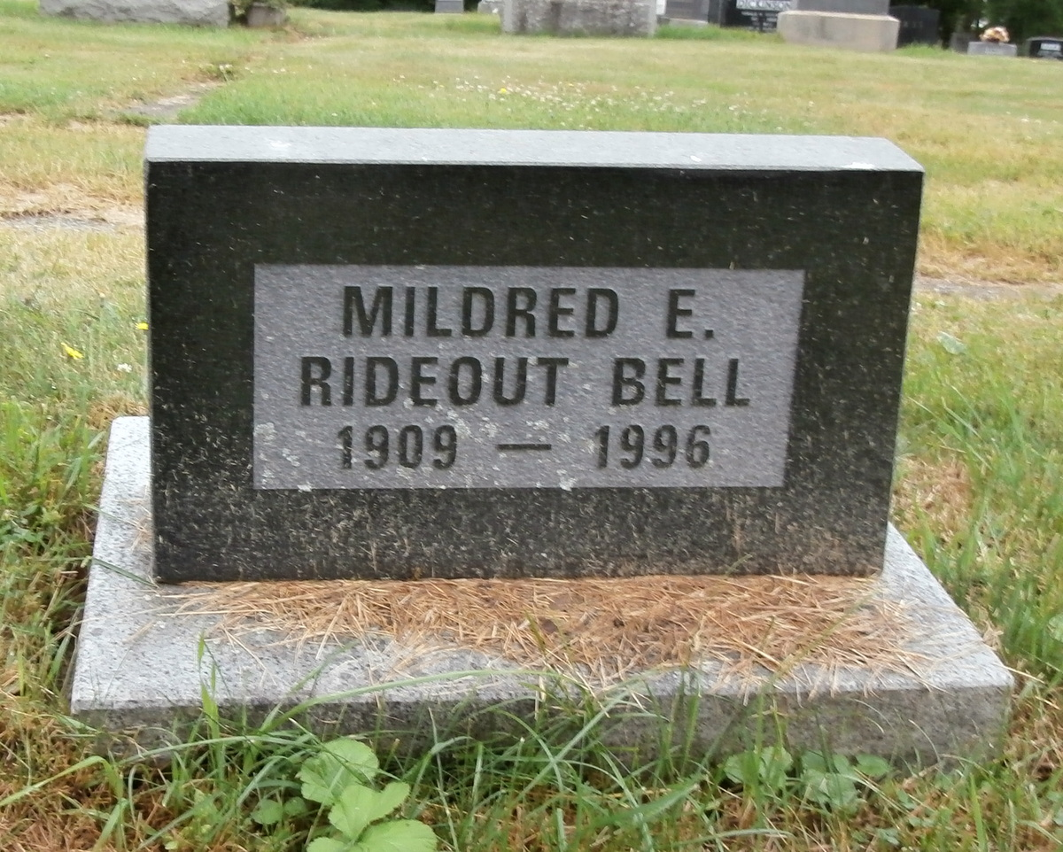 Mildred E. <i>Rideout</i> Bell