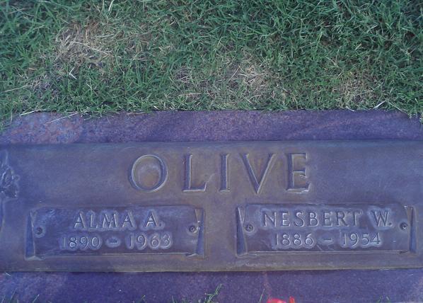 Alma Alice <i>McCarroll</i> Olive