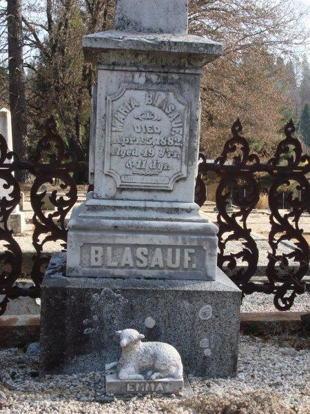 Maria <i>Burkhardt</i> Blasauf